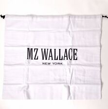 Mz Wallace White Dust Bag for Purse 16.5�x19�