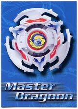 Master Dragoon #60 Beyblade 2003 Cards Inc. Trade Card (C1256)