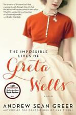 The Impossible Lives of Greta Wells by Andrew Sean Greer (2014, Paperback) L NEW