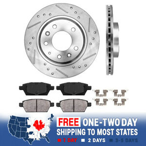 Rear Brake Rotors And Ceramic Pads For Ford Fusion MKZ Zephyr Mazda 6 Milan