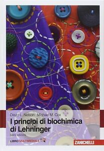 EBOOK Principi di Biochimica di Lehninger 6 EDIZIONE, originale Zanichelli