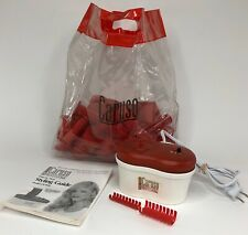 Caruso ION Steam Hairsetter Curlers C97958 30 Hair Rollers Pageants Cheer Beauty