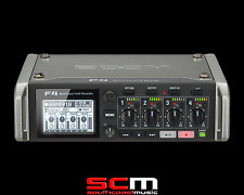 ZOOM F4 MULTI TRACK FIELD RECORDER ENG RECORDING BRAND NEW WITH FREE SHIPPING