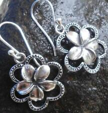 Without Stone Sterling Silver Handcrafted Earrings