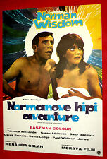 WHAT'S GOOD FOR THE GOOSE 1969 NORMAN WISDOM SALLY GEESON EXYU MOVIE POSTER
