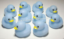 10 BABY SHOWER RUBBER DUCK PARTY DECORATION SUPPLIES FAVORS BLUE DUCKIES BOY