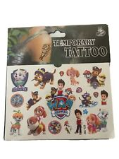 New PAW PATROL  Temporary Tattoo Sheet Children Kid Birthday Party Bag Filler