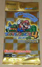 Japanese Super Mario Advance 4 e+ Booster Pack Sealed (5 cards per pack)