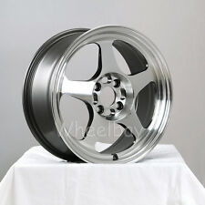ROTA WHEEL SLIPSTREAM  15X7 4X100 40 FULL POLISH GM CIVIC INTEGRA