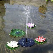 Solar Power Floating Water Pump Submersible Fountain for Pool Garden Plants Pond