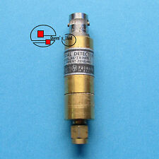 1×USED HP/Agilent 8472A 10MHz-18GHz Negative Polarity SMA/BNC Crystal Detector