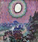 Robert Delaunay Paysage au Disque Giclee Fine Art Print Repro on Canvas
