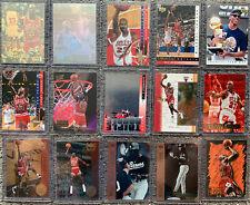 (15) Premium Michael Jordan ALL Different Insert Card Lot Triple Double Hologram