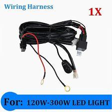 2M Wiring Harness Kit-For LED Light 120W 180W 240W 288W 300W Switch Relay ON/OFF