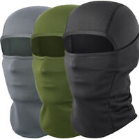 1/2PCS Windproof Balaclava Motorcycle Outdoor Sports Ski Full Face Mask Hat Men