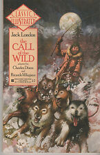 Classics Illustrated 10 Call Wild Dixon Jack London NEW Unread 1st Print 1990 NE