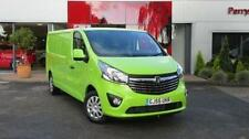 Vivaro AM/FM Stereo Commercial Vans & Pickups with Alarm