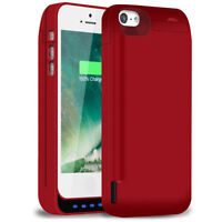 4800mAh Rechargeable Charging Battery Pack Case Cover For iPhone 5, 5s, 5c, SE