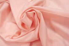 """BTY Peach 100% Cotton Flannel Fabric 43"""" wide New! by the yard"""