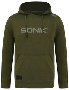 Sonik Squad Core Hoody Hoodie Hood Green By Navitas *All Sizes* NEW Carp Fishing