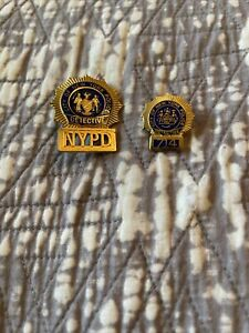 POLICE BADGE retired NYPD Detective (2)