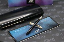 Montblanc Meisterstück Solitaire Doue Sterling Silver 144 Classique Fountain Pen