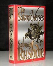 SALMAN RUSHDIE THE SATANIC VERSES SIGNED FIRST EDITION 1ST PRINTING