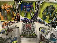 M.A.R.S. HEROS Coverters/Create & Build Your Own Action Figure Lot