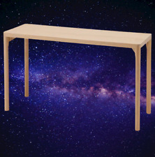 *New* RAVAROR Console table oak veneer, 130x45x74 cm 004.545.19 *Brand IKEA*