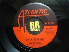 IVORY JOE HUNTER - LOVE'S A HURTING GAME US ATLANTIC R&B