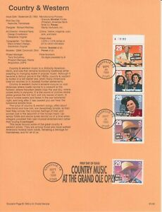 U.S.A. Souvenir Pages    First  Day of Issue All perfect.