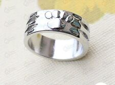 Silver Ring with Paw, womens gifts size 8