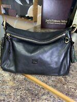 Dooney & Bourke Italian Florentine Vachetta Satchel Shoulder Bag