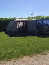 dwt Isola Air Bus-Vorzelt, 300x300cm eingenähter Boden Airtub-Gestänge Camping