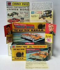 Corgi boîte box repro 497 gun firing thrush buster the man from UNCLE