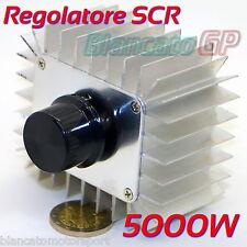 REGOLATORE DI VELOCITÀ SCR 5000W 220V PER MOTORI AC LAMPADE DIMMER TEMPERATURA