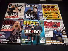 2003 GUITAR ONE MAGAZINE LOT OF 7 ISSUES - GREAT MUSIC ISSUES - M 766