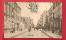 CPA postcard commerces La Rue de Paris PUTEAUX 92 Hauts de Seine [913 R]