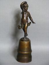 Franz Iffland Bronze Kinder Mädchen Figur Figure Figurine um 1900