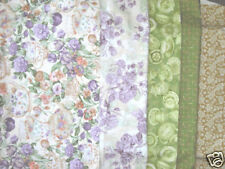4 Yds Northcott High Tea Quilt Fabric Set