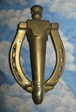 Brass Horseshoe Door Knocker