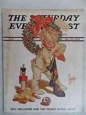 Saturday Evening Post Magazine December 23,1933  JC Leyendecker  VINTAGE ADS