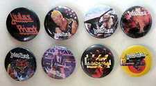 Judas Priest 1980-82 Pinback Buttons Pins Badges 8 Different