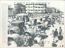 1971 Street Scene Dacca Bangladesh 1970s Press Photo