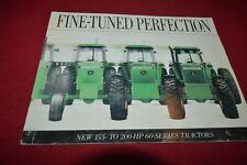 John Deere 4560 4760 4960 Tractor 1991 Dealer's Brochure AMIL15