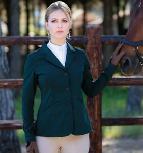 NWT Horseware Large competition jacket Forest Green