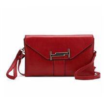 Ladies PU Leather Envelope Clutch Evening Bag Women Party Cross body Hand Bags