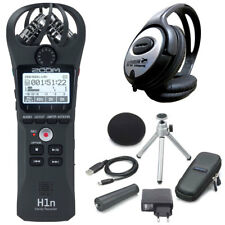 Zoom h1n, móvil grabador + aph1n accesorios + auriculares