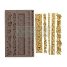 Prima Marketing Mould Mold ELEGANT BORDER Food Safe Clay Candy Chocolate Resin