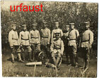 German WWI Soldiers with Mine Thrower Trench Mortar Photo